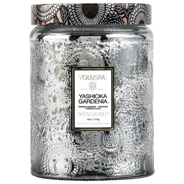 Yashioka Gardenia Glass Jar Candle