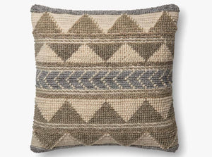 Looped Chevron Pillow