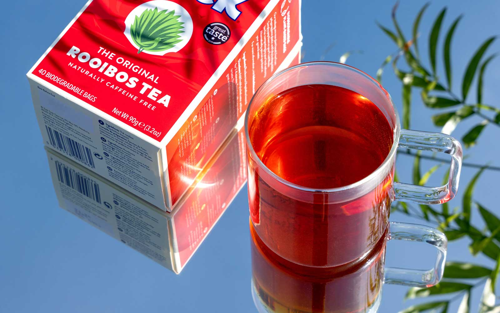 Tick Tock packet with rooibos tea - main