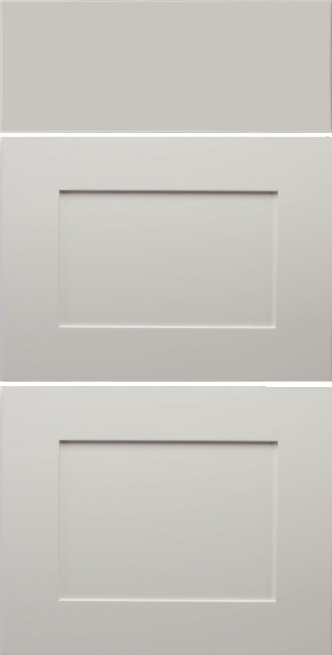 AART Shaker Drawer Fronts - 3 Drawer Set