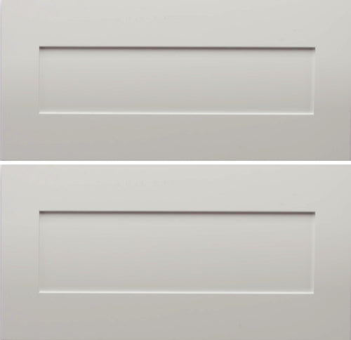 Aart Shaker Drawer Fronts - 24 x 24 - 2 Drawer Set