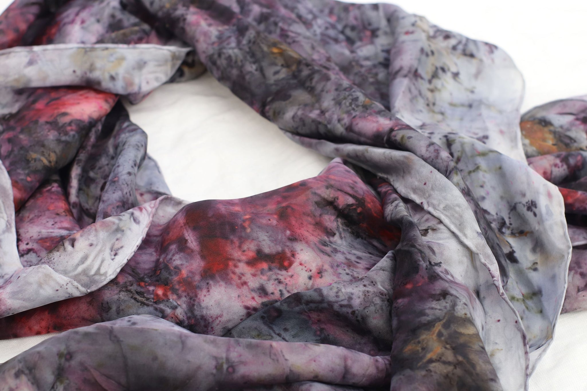 "Silk ""Into Me See"" - Botanically Dyed by Wild Verbena"
