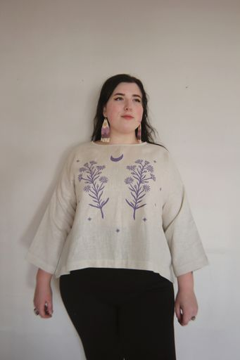 (Presale) All Seeing Aster Tunic