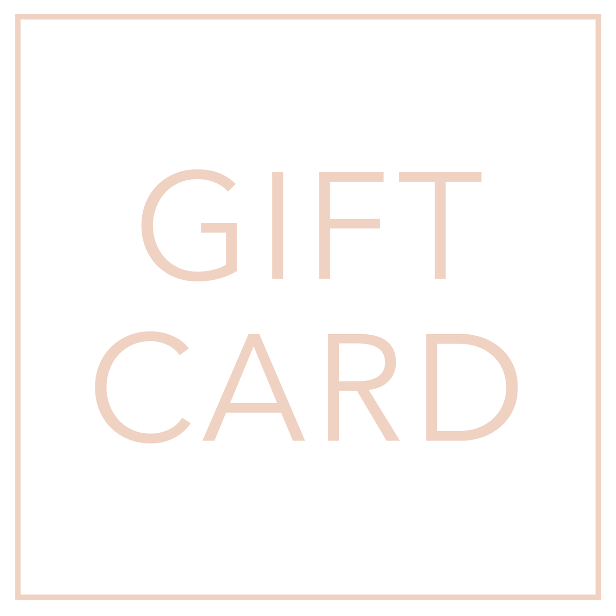 Gift Card ($10-$100)