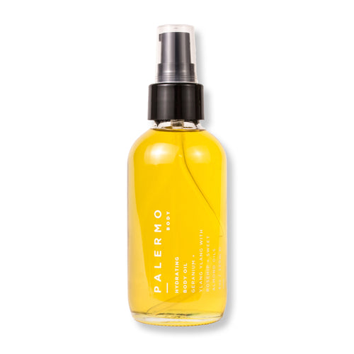Hydrating Body Oil (Geranium + Ylang Ylang)
