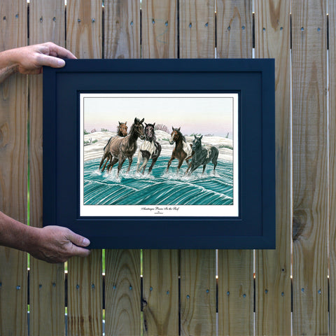 Ponies of Assateague Wall Art - JWB Art Unlimited
