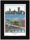 Chesapeake Bounty 4 Baltimore Harbor Crab Print - JWB Art Unlimited