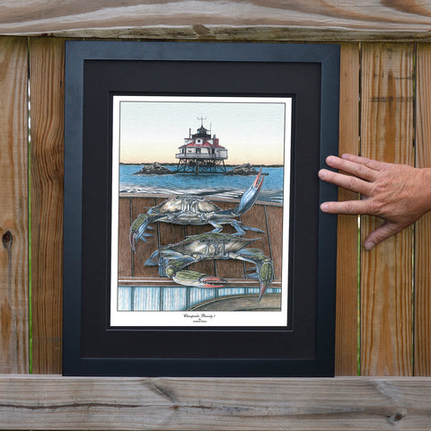 Chesapeake Bounty 1 Thomas Point Wall Art - JWB Art Unlimited