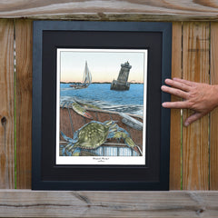 Chesapeake Bounty 2 Sharps Island Light Print - JWB Art Unlimited
