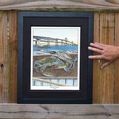Chesapeake Bounty 3 Bay Bridge Print - JWB Art Unlimited