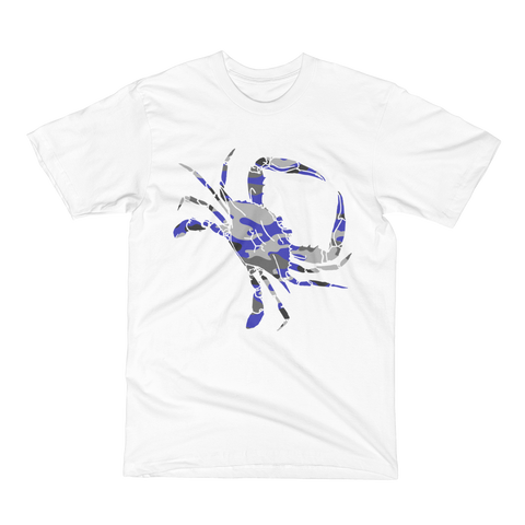 "T-Shirt - Unisex ""Crab Camo"" Design"