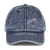 Stone-Washed Cap - Purple Crab - JWB Art Unlimited