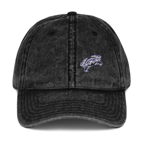 Stone-Washed Cap - Purple Crab