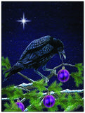Holiday Cards - Crow Ho Ho Baltimore Sports - JWB Art Unlimited