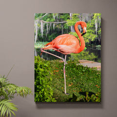 Floyd the Flamingo Wall Art - JWB Art Unlimited