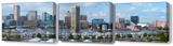 Baltimore Harbor Close-Up Canvas Full 3-pc Set - JWB Art Unlimited
