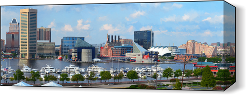 The Baltimore Harbor Far 2 Wall Art - JWB Art Unlimited