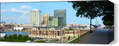 Baltimore Harbor Far 3 Wall Art - JWB Art Unlimited