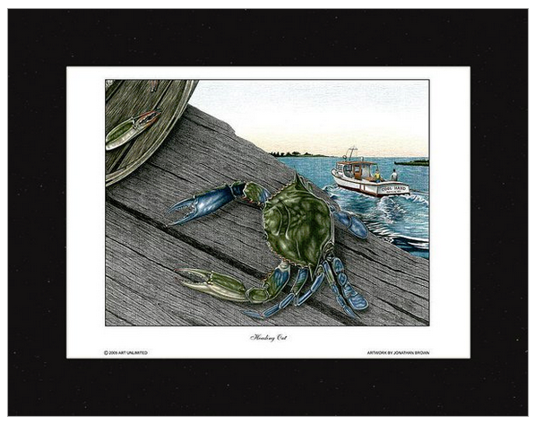 df26b6c5668 Heading Out Crab Wall Art - JWB Art Unlimited ...