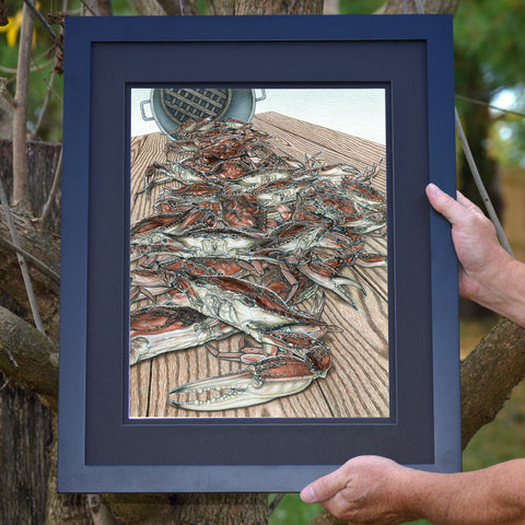 Hot From The Pot Crab Wall Art