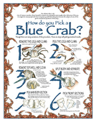 How Do You Pick a Blue Crab Wall Art - JWB Art Unlimited