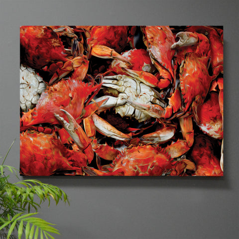 Jewel of the Chesapeake Crab Wall Art