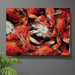 Jewel of the Chesapeake Crab Art Print + Canvas