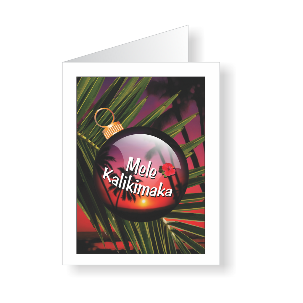 Mele Kalikimaka Aloha Holiday Cards | Jon Brown Art | JWB Art Unlimited