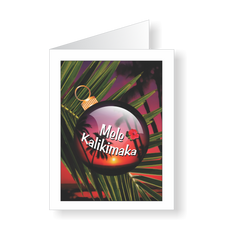 Holiday Cards - Aloha Mele Kalikimaka means Merry Christmas - JWB Art Unlimited