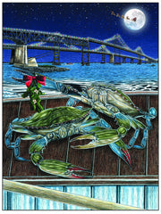 Merry Christmas Bay-Be Holiday Cards - JWB Art Unlimited