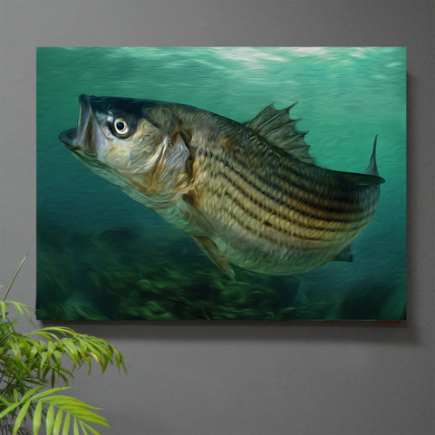 On the Rocks Rockfish Wall Art - JWB Art Unlimited