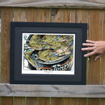 Like Peas & Carrots Crab Wall Art - JWB Art Unlimited