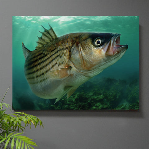 Rock Solid Rockfish Wall Art
