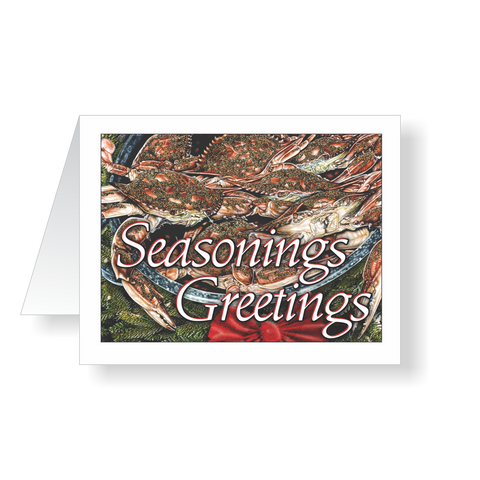 Holiday Cards - Seasonings Greetings Christmas Cards
