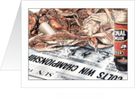 Sudden Death Crab Wall Art - Baltimore Colts Superbowl Win