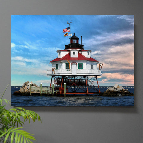 Thomas Point Light Wall Art