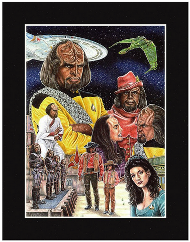 Worf - JWB Art Unlimited