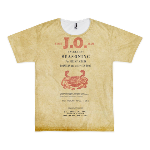 T-Shirt - Original J.O. Spice Can Design - JWB Art Unlimited