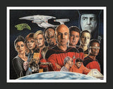 Star Trek: Next Generation Crew Wall Art