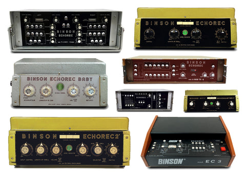 Buying a Binson Echorec - Modern Pedal or Vintage Machine?