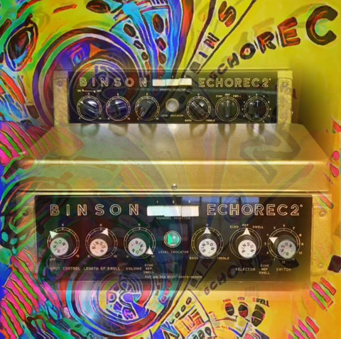 Binson Echorec Varispeed Modification by Tony Miln