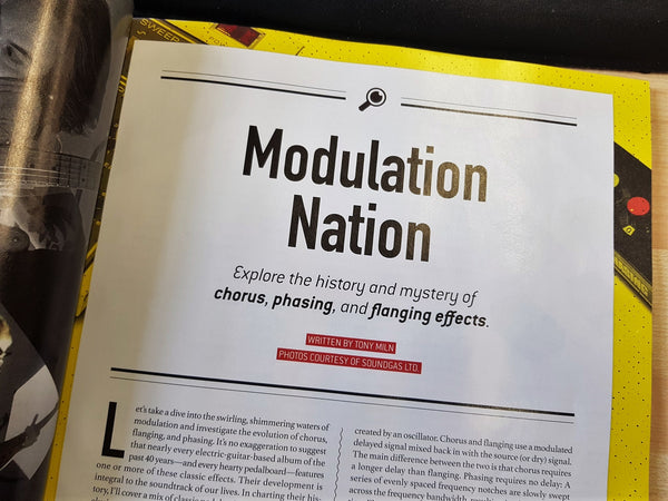 Modulation Nation: Chorus, Phasing, and Flanging