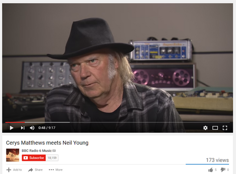 Neil Young meets Cerys Matthews