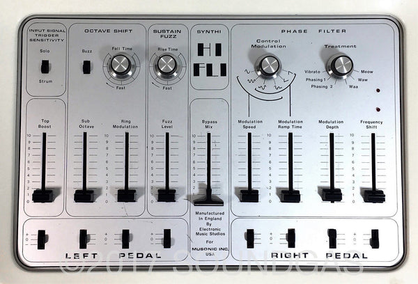 EMS Synthi HiFli controls