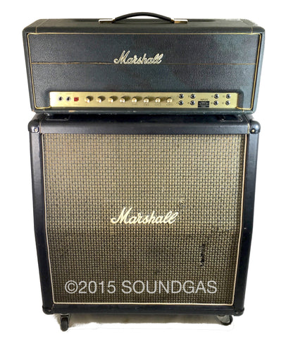 Marshall Super PA 100W Model 1968 + 4x12 1976 Cab