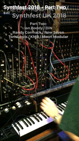Soundgas Synthfest 2018 Report - Part Two - Moog Modular