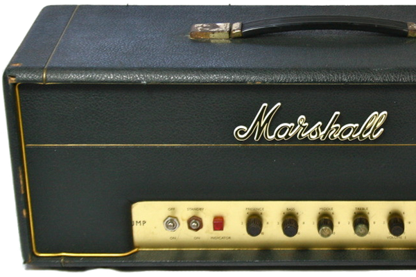 1968 MARSHALL 50w PLEXI BASS HEAD