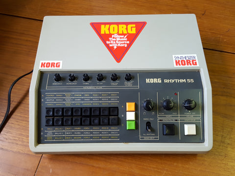 Korg Rhythm KR-55 - Modified