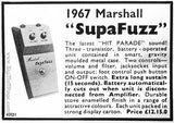 c1967 MARSHALL SUPA FUZZ (Colorsound Mk2 Tone Bender)