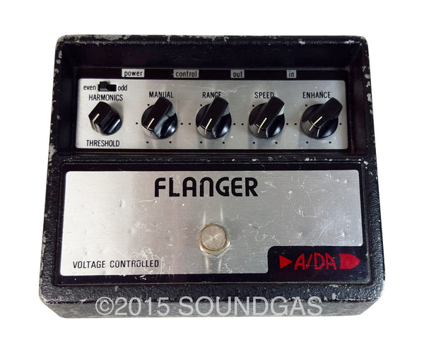 a da flanger original version vintage effect for sale soundgas vintage effects guitar amps. Black Bedroom Furniture Sets. Home Design Ideas